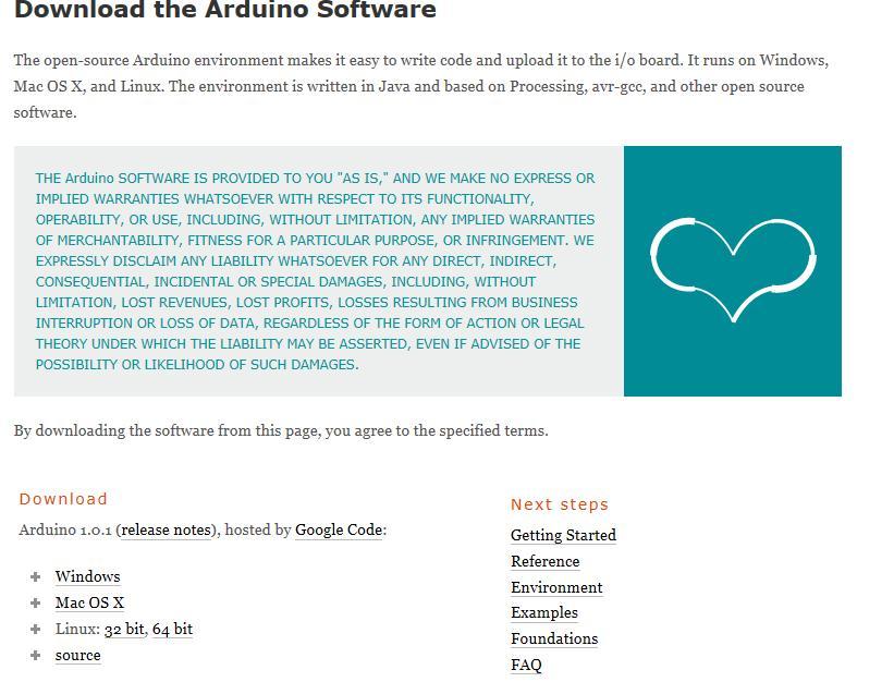 Arduino ide download 64 bit