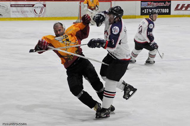 UHL A līga HK Tērvete HK Cetra 2 hokejs spēles apraksts video