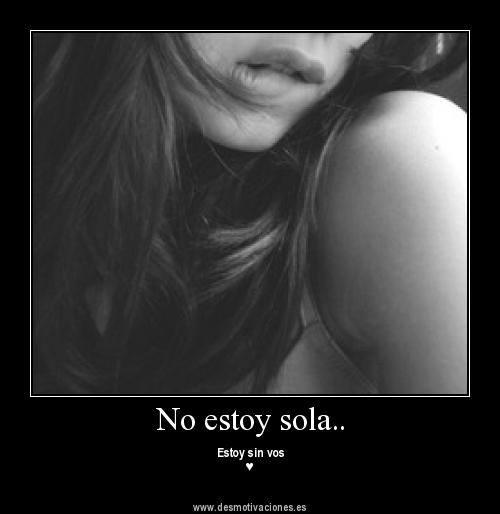 Imagenes y Frases Facebook: Estoy Sola