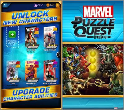 Download Marvel Puzzle Quest Dark Reign vR40.Ship.147915 Apk Full Free
