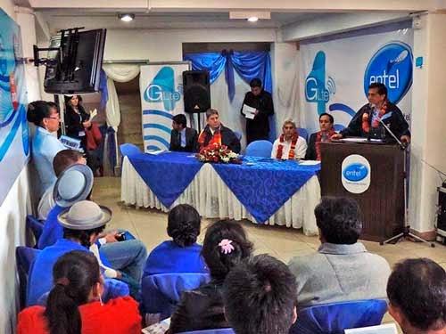 Entel anuncia servicio de 4G LTE ya está en Tarija