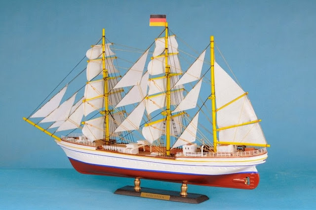 Tall Ship Model Gorch Fock