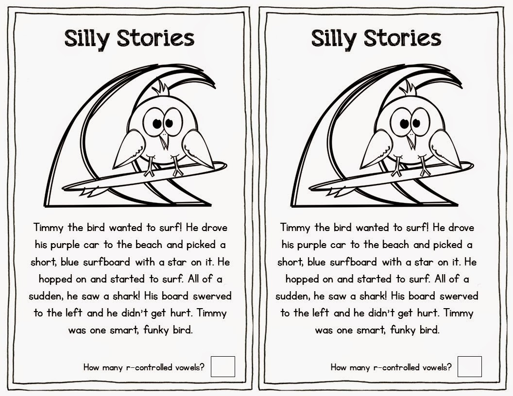 Worksheets R Controlled Vowels Worksheet blog hoppin free r controlled vowel activities students read the silly story and circle vowels