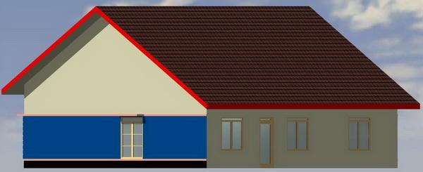 Type 136 rumah minimalis denah