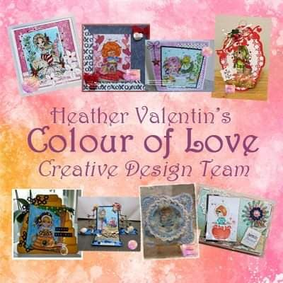 I design for Heather Valentin's Colour of Love
