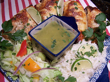 Ultimate Margarita Chicken with Tequila Lime Vinaigrette