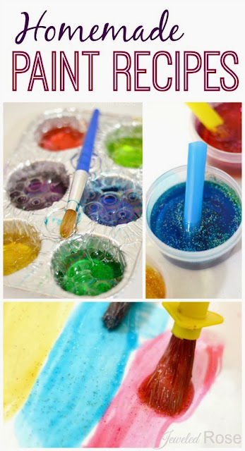 3 EASY Paint Recipes Using Bubble Bath