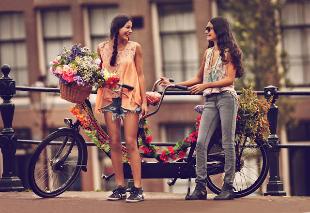 Free People_Girls on Bikes