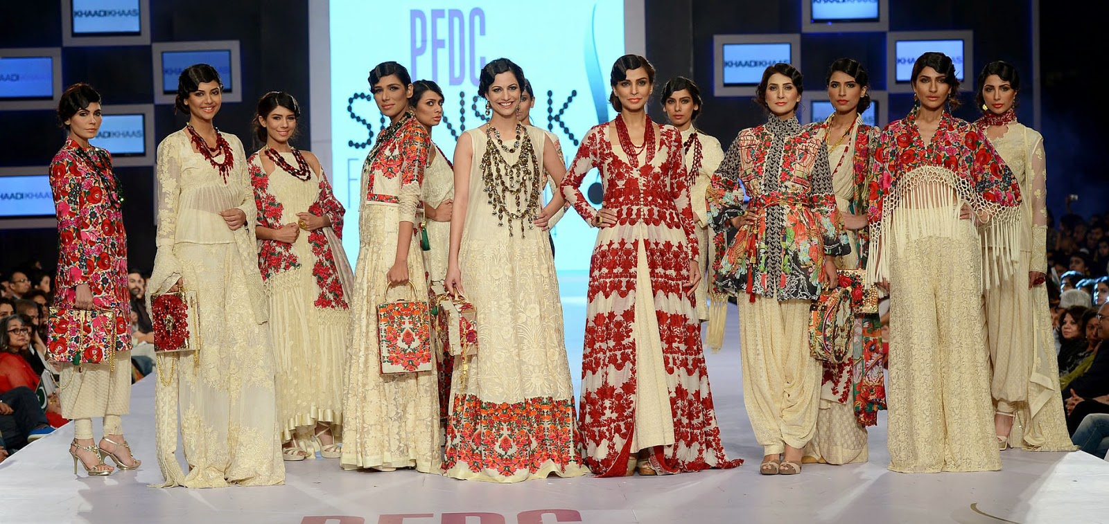 Khaadi Khaas - PFDC Sunsilk Fashion Week 2014 - PSFW