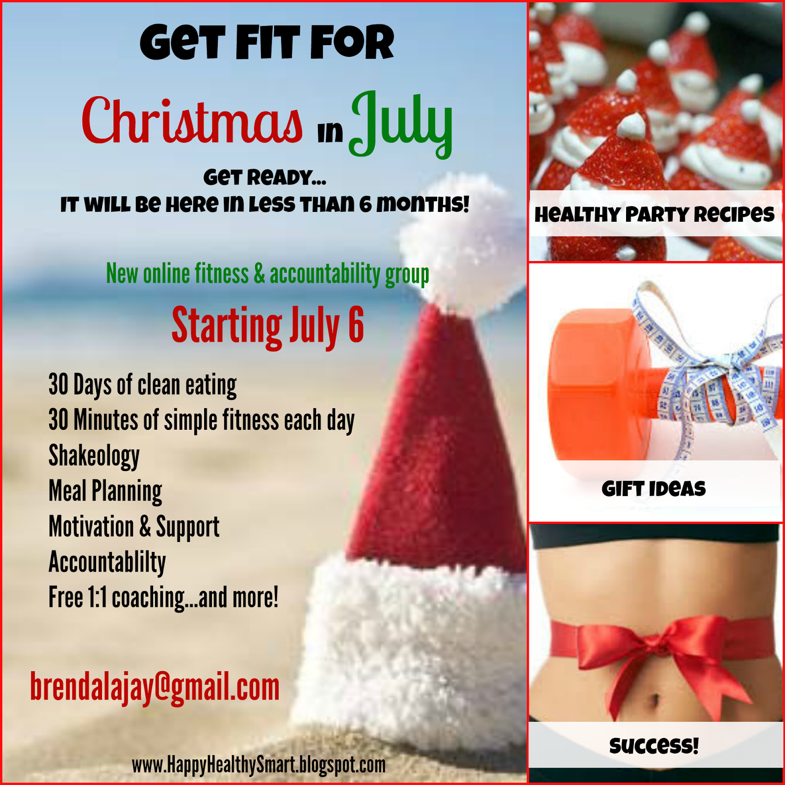 Happy Healthy Smart : Get Fit For Christmas