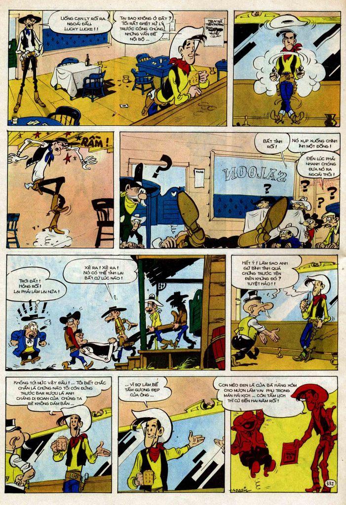 TruyenHay.Com - Ảnh 32 - Lucky Luke Tập 25 - Nhện Chân Dài