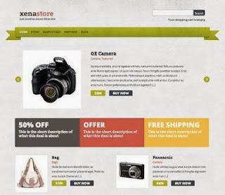 template wordpress toko online gratis