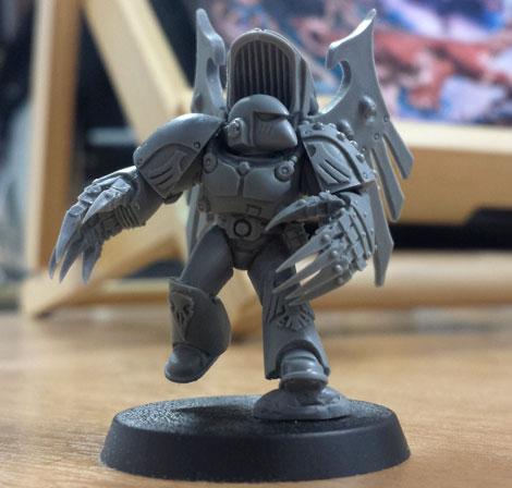 New Ravenguard and a Horus Heresy Model Masterclass Book