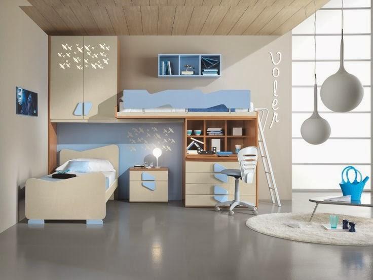 Case di lusso camerette per ragazzi - Progettare camerette per bambini ...