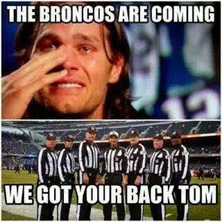 the broncos are coming we got your back tom