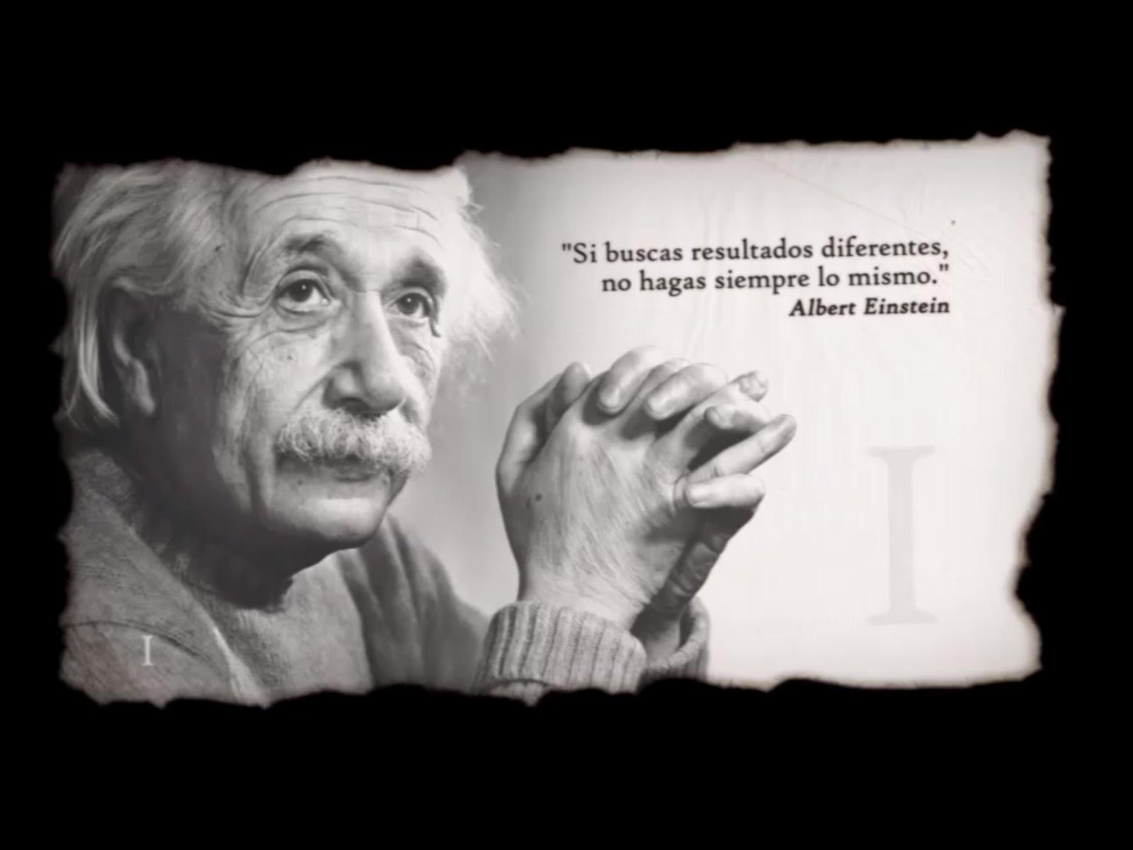 ALBERT EINSTEIN .