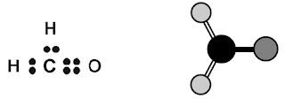 Struktur Lewis H2CO