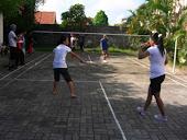 Berbagi Dalam Badminton