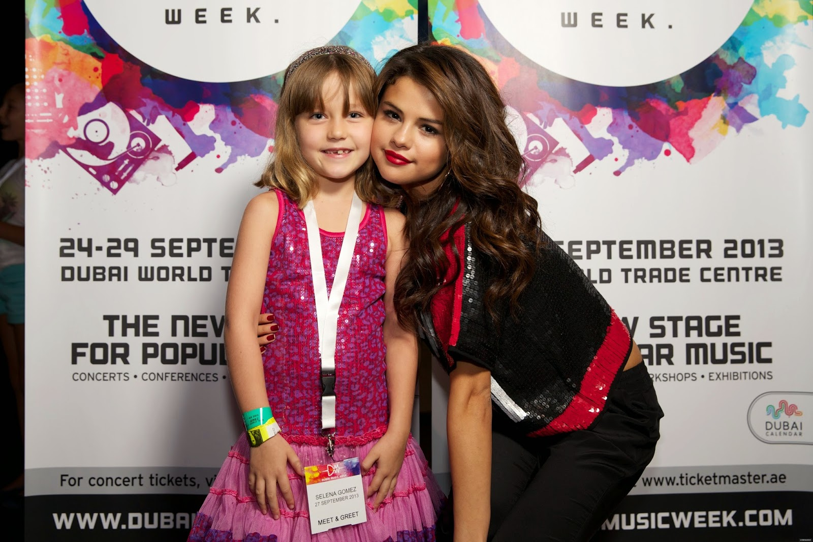 Selena Gomez Style Stars Dance World Tour Meet Greet Dubai