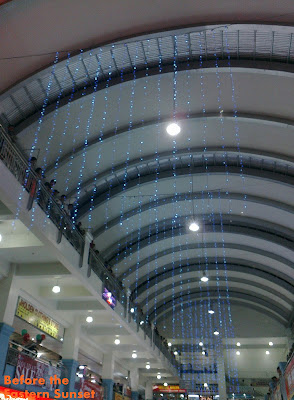 Christmas decorations in Target Mall, Balibago