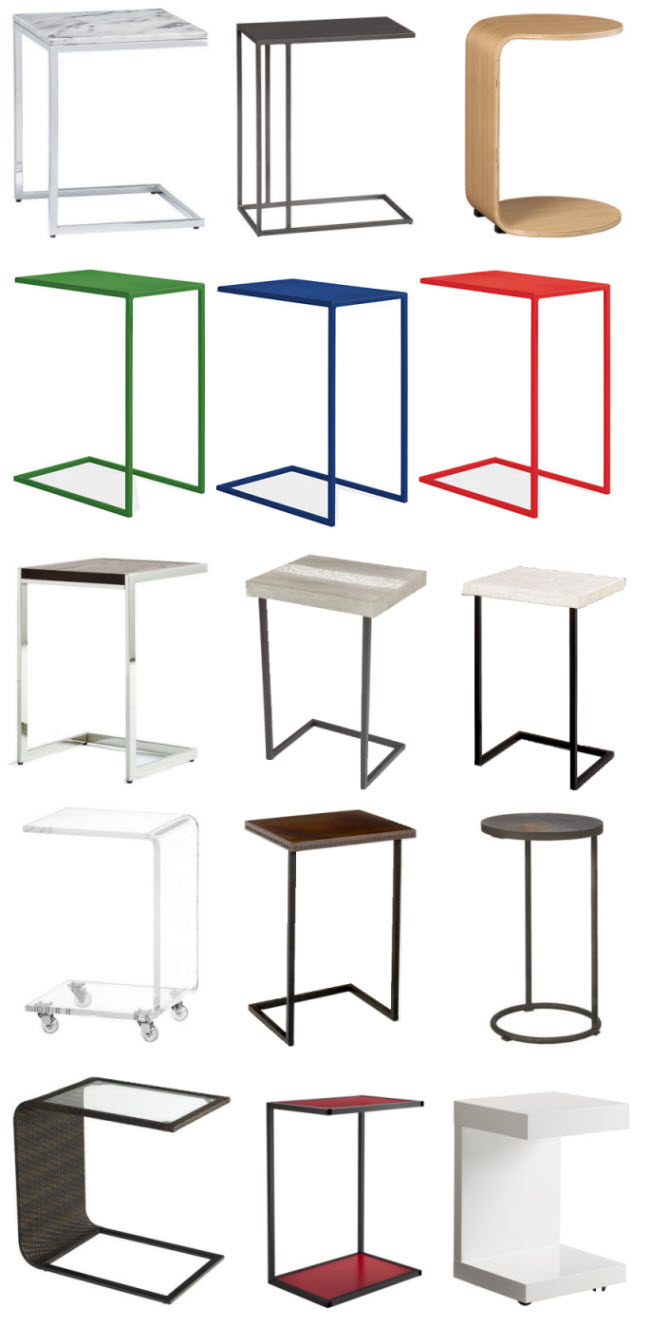 Image Result For Slim End Table
