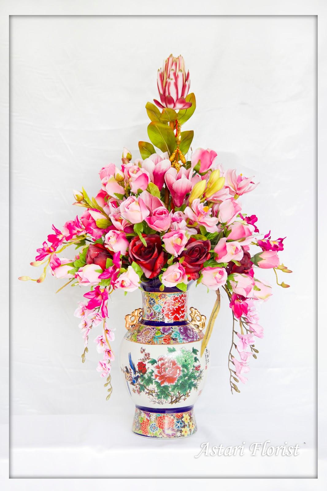 Rangkaian Bunga Artificial #9