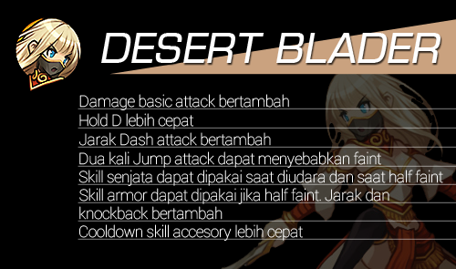 Hero Reform Desert Blader