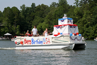 Pride of wedowee andrew hall happy birthday usa for Wedowee lake level