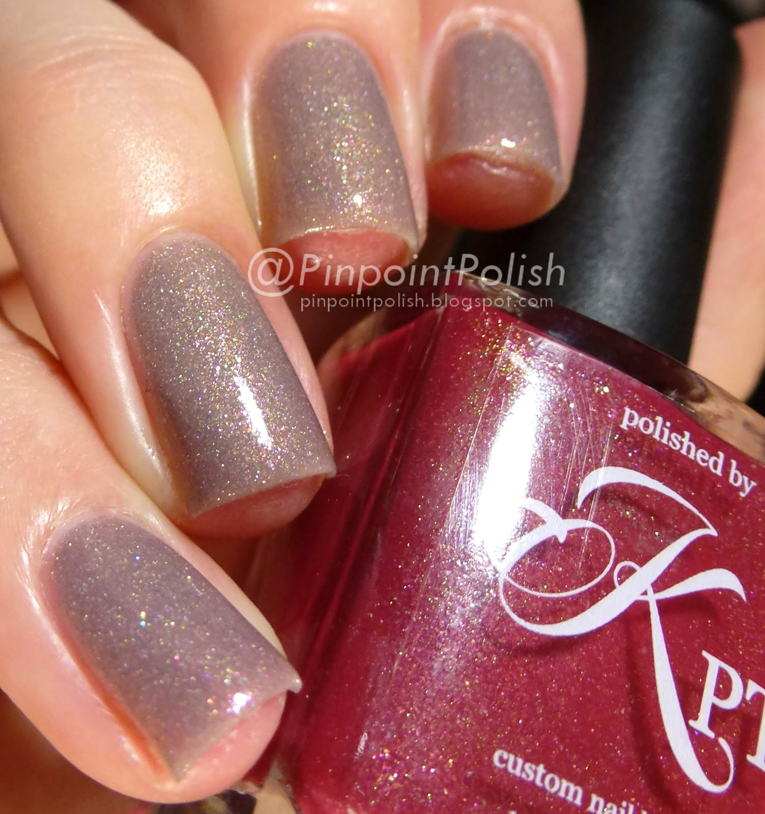 Don't Be Ranunculus, March Into Spring, Polished by KPT, swatch