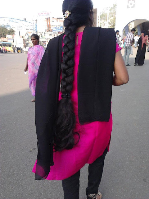 Madurai long hair girl