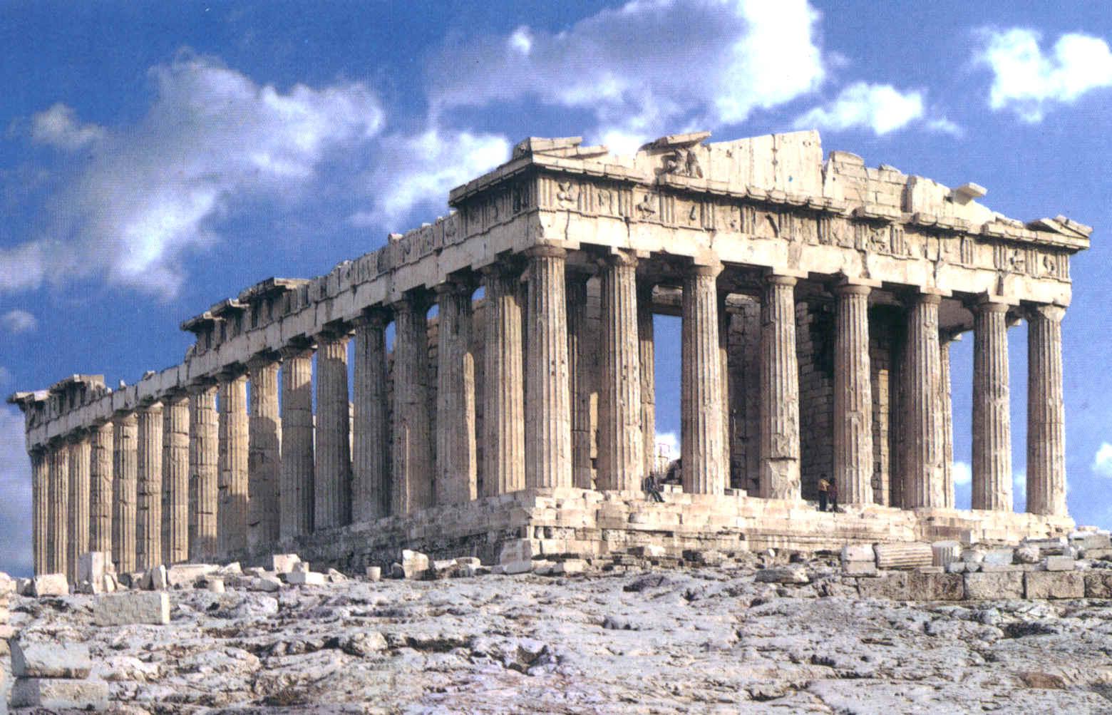 la arquitectura griega el templo la sabiduria de grecia