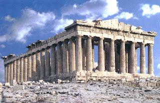 Templos griegos. LA acropolis de atenas. Templos del estilo dorico. Arquitectura griega antigua. El arte en grecia