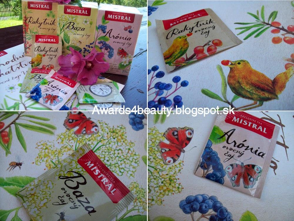 Ovocné čaje Mistral v nových obaloch a s krásnymi vrecúškami