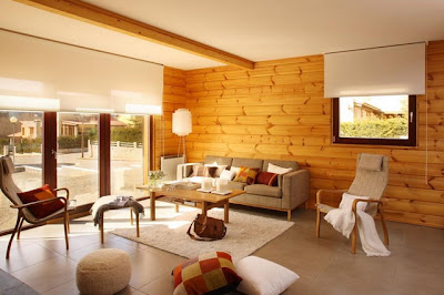 Gorgeous Wood Designs for Living Room Walls