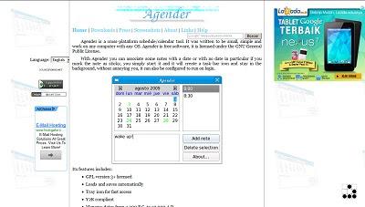 Agender, Calendar