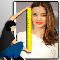 What is Miranda Kerr's height?