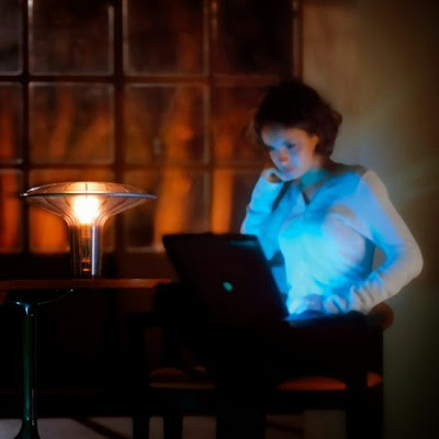 Agaricon table light By Ross Lovegrove