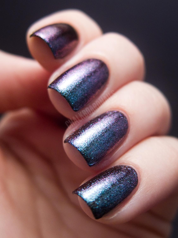 Glitter Gal - Last Light | Chalkboard Nails | Nail Art Blog