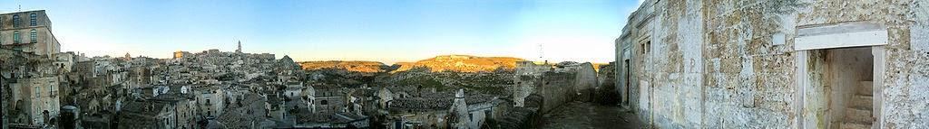 Sassi di Matera - panorama