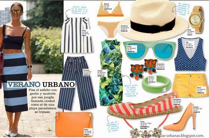 looks de moda urbana verano 2015