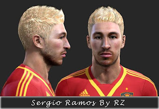 Sergio Ramos Face By Rz