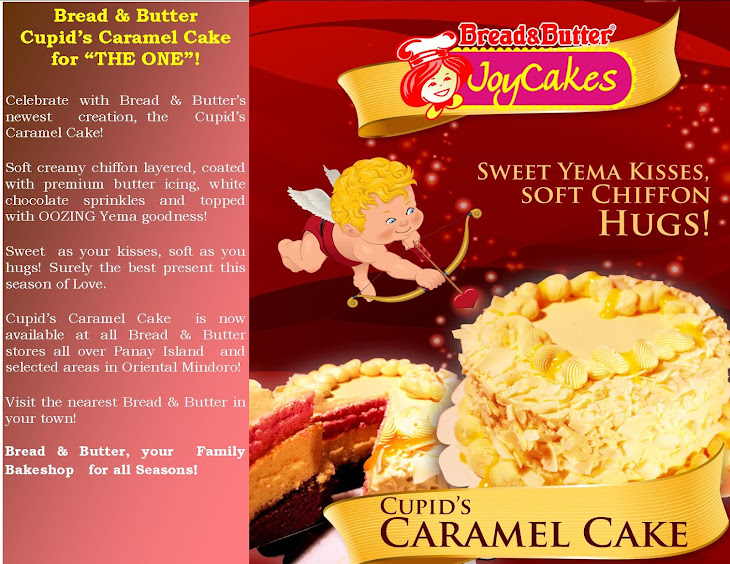 BREAD & BUTTER'S CUPID'S CARAMEL CAKE