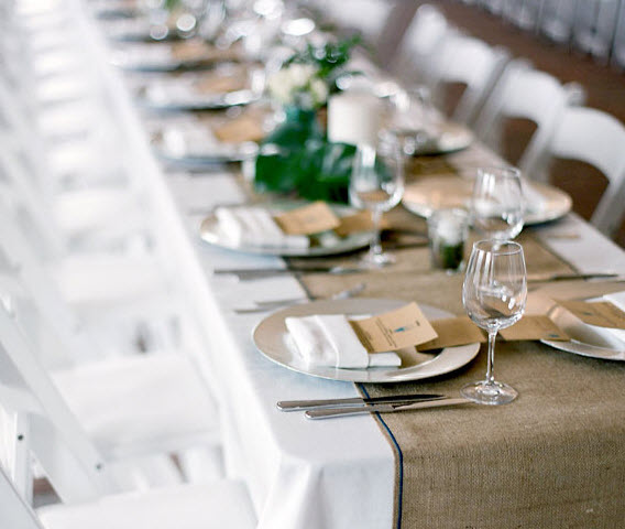 Kennique Linens and Events: Table Runners, Oh the Possibilities