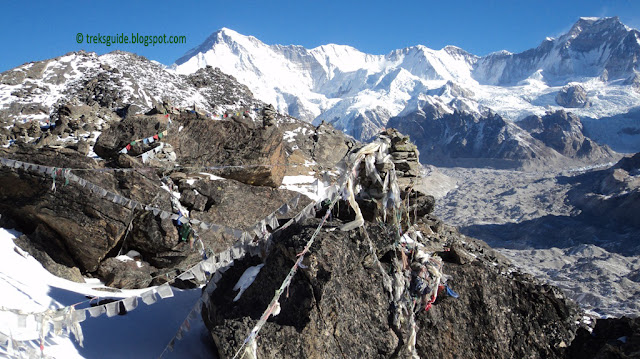Gokyo-Ri and mountain view