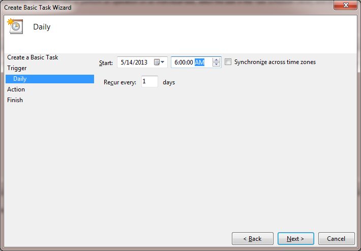 how to set back computer to earlier time