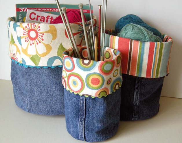 Denim Jeans Recycle Ideas