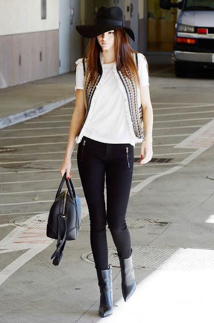 Sete dias sete looks das celebridades Kendall Jenner