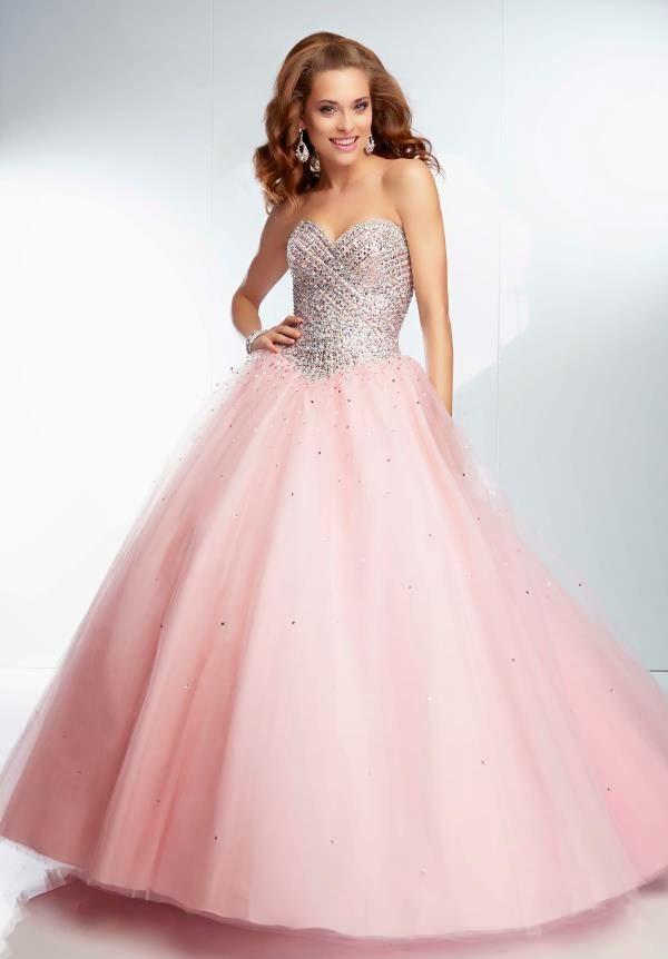 Precioso Vestido de 15 años de color Rosa