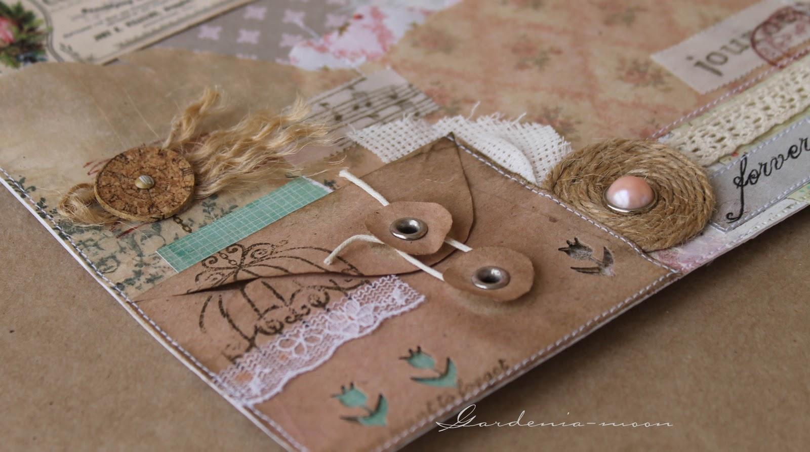 Крафтовые конверты своими руками фото 181