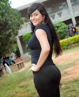 Namitha showing off her hot ass